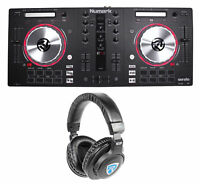 Numark MixTrack Pro 3 Serato DJ USB/Midi Controller MixTrack Pro III+Headphones