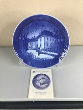 Vtg Royal Copenhagen 1975 The Queens Christmas Residence Collector Plate
