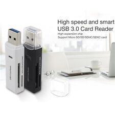 MINI 5Gbps USB 3.0 Micro Super Speed SD/SDXC TF Card Reader Adapter Mac OS Pro