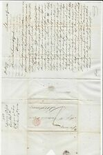 Venezuela: 1843; Cover la Guayra to Bordeaux,red cancel outremer,french...V++05