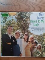 Matt Monro ‎– Here's To My Lady  ST 2608 Vinyl, LP, Album, Stereo