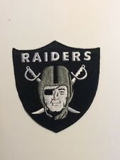 Oakland Raiders Logo NFL Football Jersey Hat Shirt Embroidered Iron On Patch