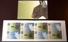 Faroe Stamp Booklet #33 2005 The Hare - Lepus Timidus - Mnh - Excellent!