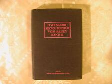 Ostendorf Sechs Bücher vom Bauen Band II 1914