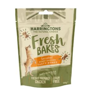 Harringtons Grain Free Chicken Tasty Bones Dog Treats 100g