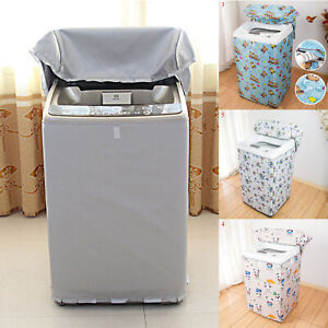 Portable Room Washing Machine Cover Automatic Sunscreen Waterproof Protector N