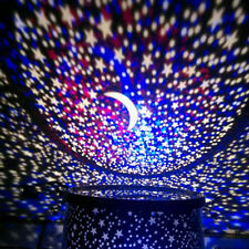 Romantic LED Starry Night Sky Projector Lamp Xmas Gift Star light Cosmos Master