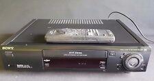Sony SLV-E820 6-Kopf Videorecorder Videorekorder ShowView PAL-NTSC VCR VHS