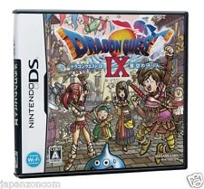 Used DS Dragon Quest IX 9 Hoshizora no mamoribito NINTENDO JAPANESE IMPORT