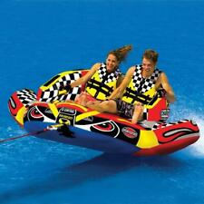 Sports Stuff Chariot Warbird | 1-2 Rider Towable Tube for Boating