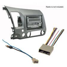 2006-2011 Honda Civic Stereo Radio CD Install Dash Kit Combo 2007 2008 2009 2010