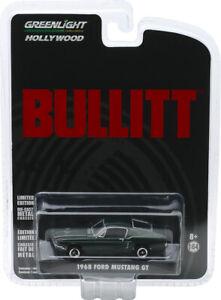 Greenlight Hollywood Bullitt 1968 Ford Mustang GT Fastback 44721 NIB