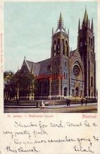 ST. JAMES METHODIST CHURCH MONTREAL QUEBEC CANADA 1906