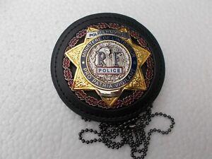 plaque de ceinture MI,sur cuir,neuve