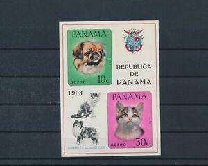 LO44369 Panama pets animals dogs imperf sheet MNH