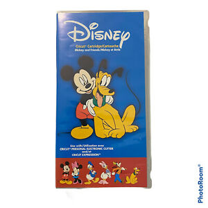 Cricut Cartridge Disney Mickey and Friends Used Condition Linked Retired