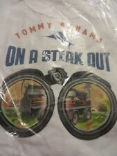 TOMMY BAHAMA TEE SHIRT RELAX  WHITE On A steak Out 3XL