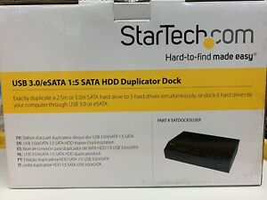 StarTech SATDOCK5U3ER 6-Bay Hard Drive Duplicator Dock