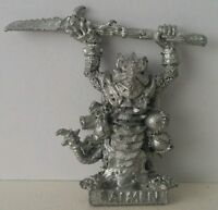 Classic SKAVEN Ratmen Vermin Lord with Halberd age of sigmar AOS GW1985 Rare OOP