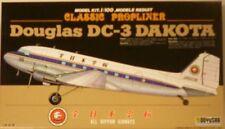 1/100 DC3 Dakota All Nippon Airways Classic Propliner Model Kit