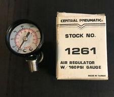 NOS - Central Pneumatic Air Regulator w/ 160 PSI Gauge