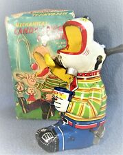 MECHANICAL CANDY LOVING CANINE 1950's JAPAN by T.P.S. VG / ORIGINAL BOX