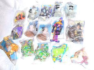 Burger King Kids Club 15-Collectible Toys Disney Nickelodeon Cartoon Network