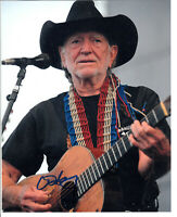 """Willie Nelson Signed Autograph 8""""x10"""" Photo"""
