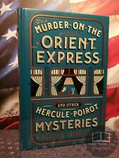NEW SEALED Murder on the Orient Express Agatha Christie Hercule Poirot Leather