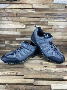 Bontrager SSR Mountain MTB WSD Cycling Shoes Grey Women's 7.5 2 Bolt