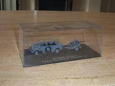 Diecast Atlas DeAgostini WW2 German Steyr Staff Car and Flak Field Gun 1943 1:72