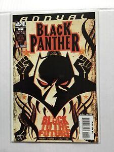BLACK PANTHER ANNUAL # 1 FIRST SHURI AS BLACK PANTHER MARVEL COMICS