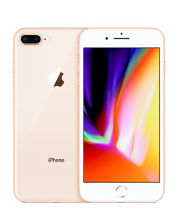 Apple iPhone 8 Plus 64 and 256GB Gray Silver Gold Unlocked