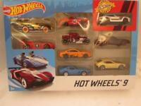 Hot Wheels 2019 9 pack gift set with exclusive Datsun 240Z also Porsche 356A