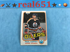1981 O-Pee-Chee #111 PAUL COFFEY Rookie | Oilers OPC RC | HOF | NM/NM-MT (OC)