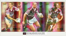 2007 SELECT NRL CHAMPIONS CARDS HOLOFOIL TEAM SET: Manly (12)**
