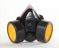 Cartridge Respirator Anit Dust Mask Paint Chemical Fumes Gas Spray Prep Prepper