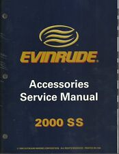 EVINRUDE OUTBOARDS 2000 SS ACCESSORIES SERVICE MANUAL P/N 787065