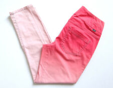 Jag Jeans Slim Fit Western Glove Works High Rise Skinny Pink Peach Faded Size 4