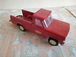 Vintage Tonka Jeep Red Pick Up Truck 1960's