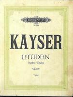 KAYSER ~ Etüden Opus 20 - Violine