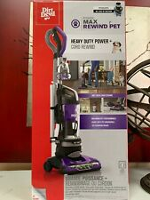 Dirt Devil Power Max Rewind Pet Bagless Upright Vacuum UD70187 - NEW