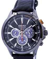 Seiko Solar Cronografo Da Uomo Watch ssc499p1, Garanzia, Scatola