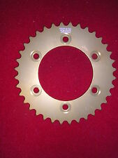 Ducati 907IE 1990-1993 37T 520 Rear Sprocket Alloy Gold  Anodised.New