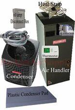 2 ton 14 SEER HEAT PUMP 410a Goodman System GSZ140241+ARUF25B14 INSTALL Package
