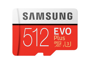 Samsung Micro SD Card Evo Plus 64GB 128GB 256GB 512GB Smartphone & Tablet lot