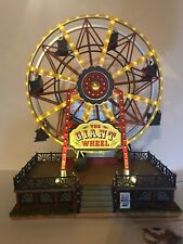 The Giant Wheel Ferris Wheel By Lemax - Plays Music, Lights Up And Rotates!