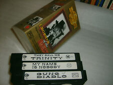 VHS *LEGENDS OF THE WEST Triple Pack* RARE Golden Years Collectors Ltd. Edition!