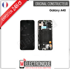 ECRAN LCD NOIR ORIGINAL SAMSUNG GALAXY A40 / SM-A405F