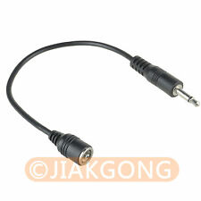 PC Female to 3.5mm Male FLASH Sync Cable Cord for Studio Flash